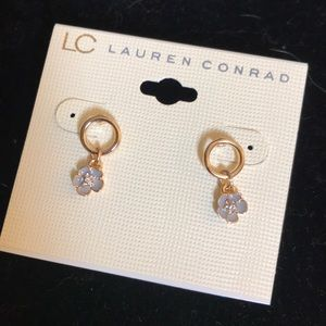 Hanging flowers earrings by lc Lauren Conrad